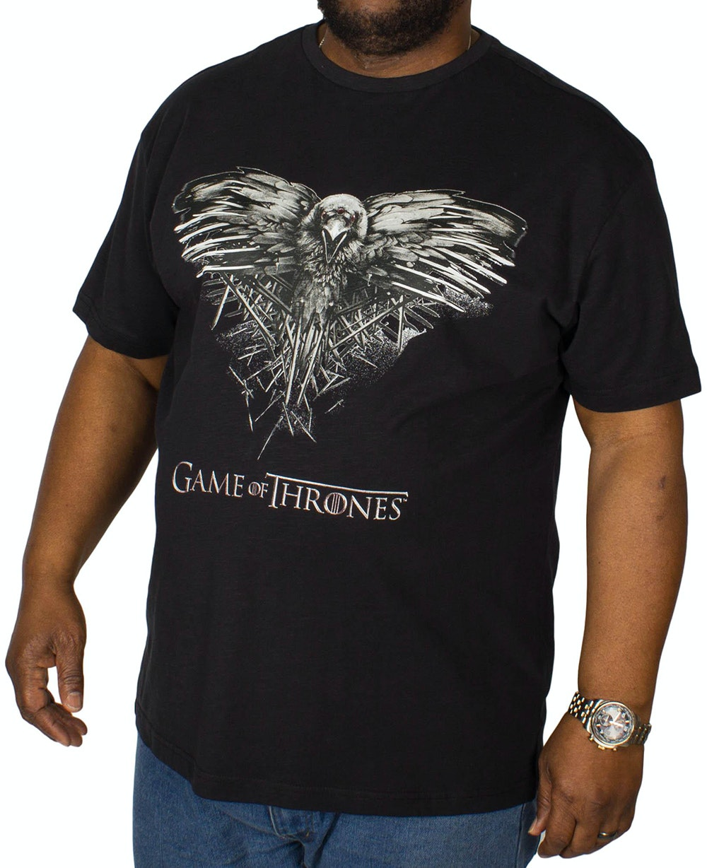 Replika Game Of Thrones T-Shirt Black