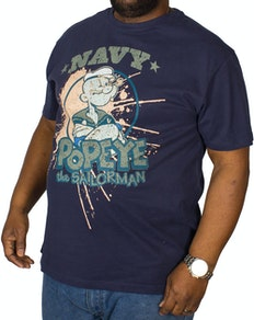 Replika Popeye T-Shirt Navy