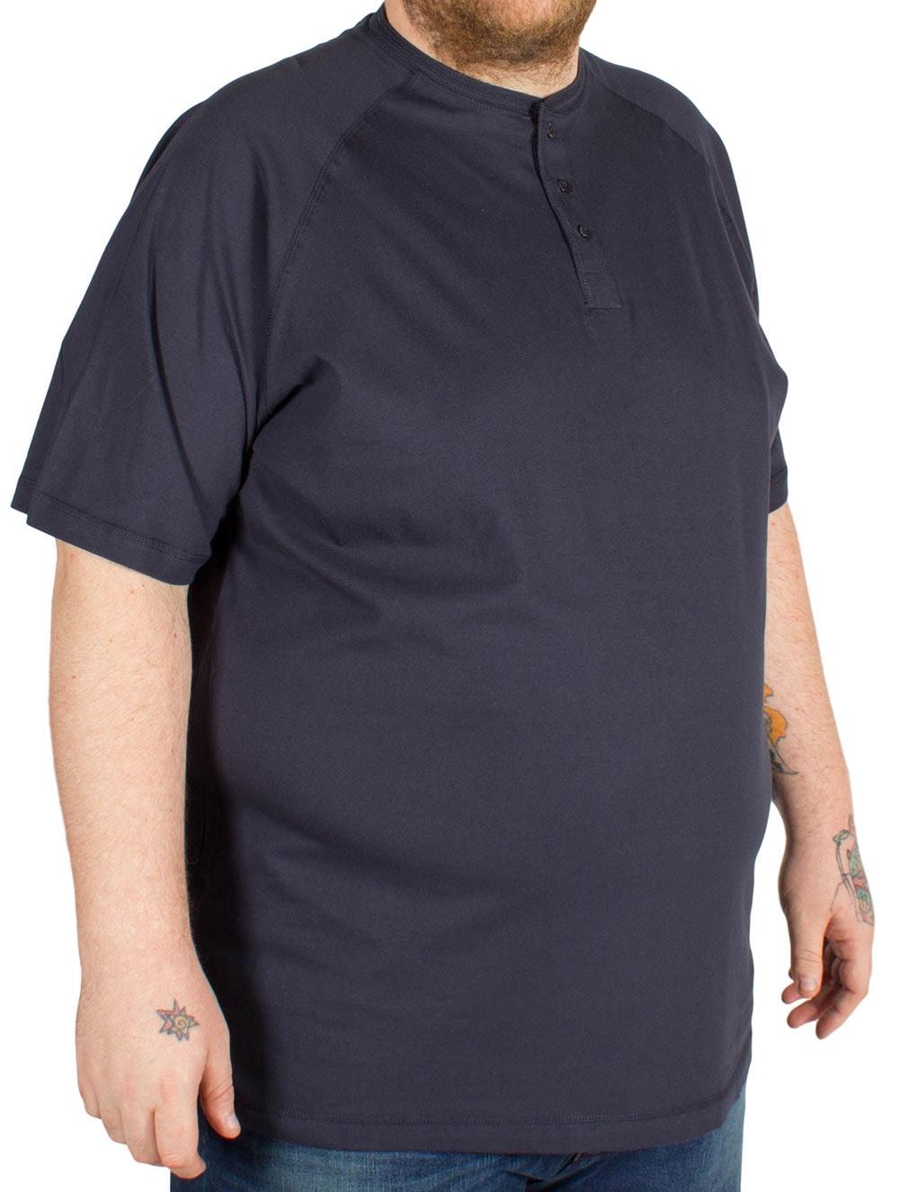 Cotton Valley Grandad T-Shirt Navy