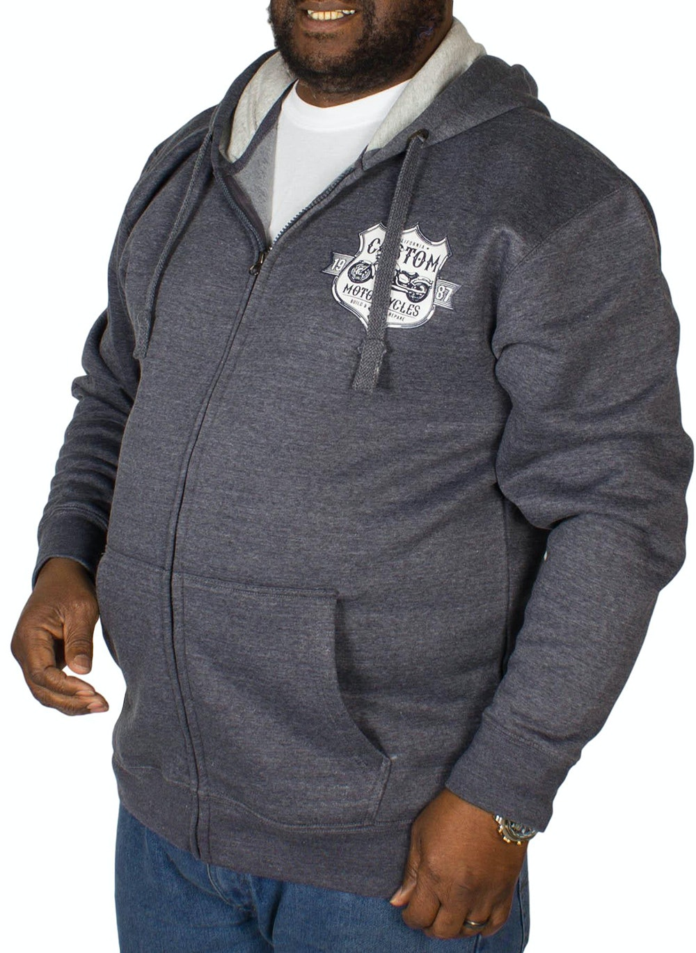 KAM Customs Hoody Denim