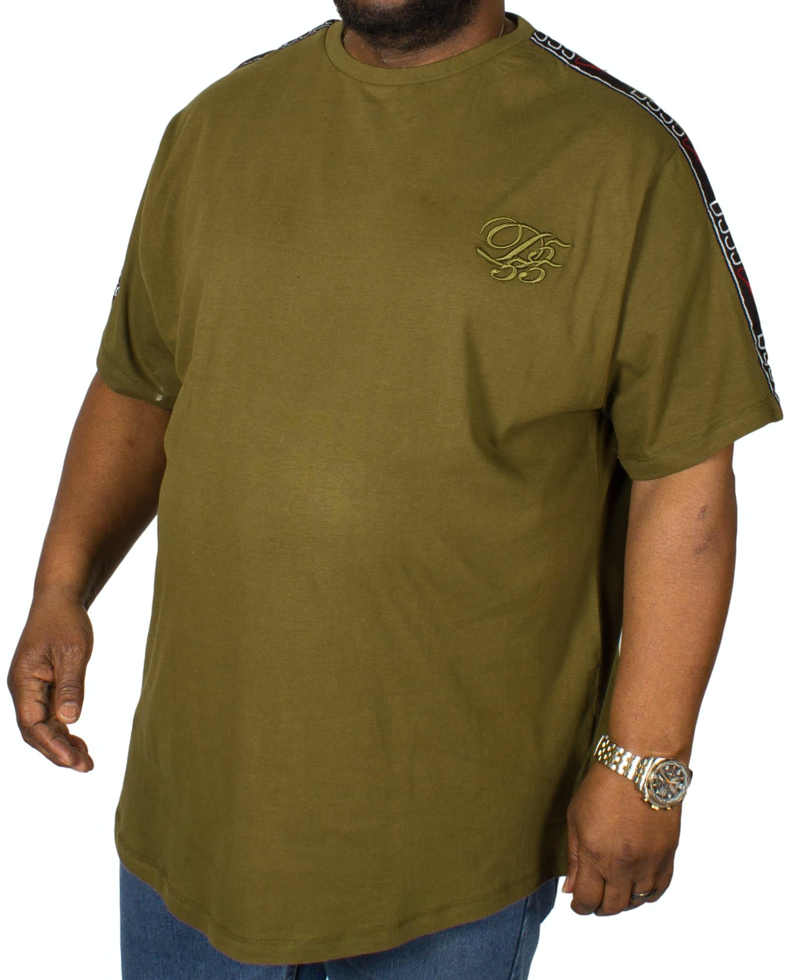 D555 Kambria Embroidered T-Shirt Khaki