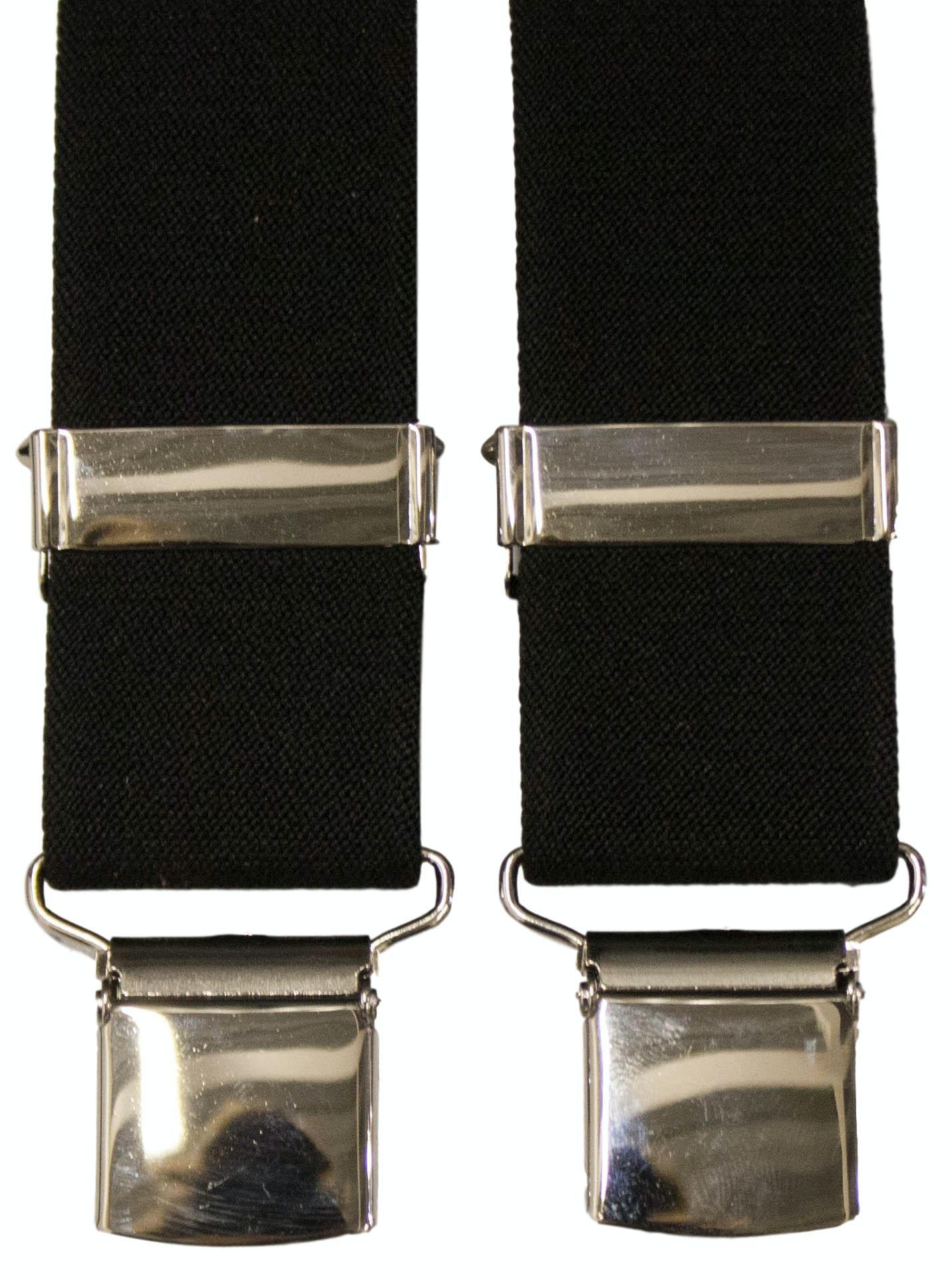 Tex Appeal Extra Long Braces Black