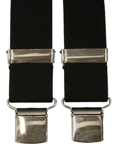 Tex Appeal Extra Long Braces Black