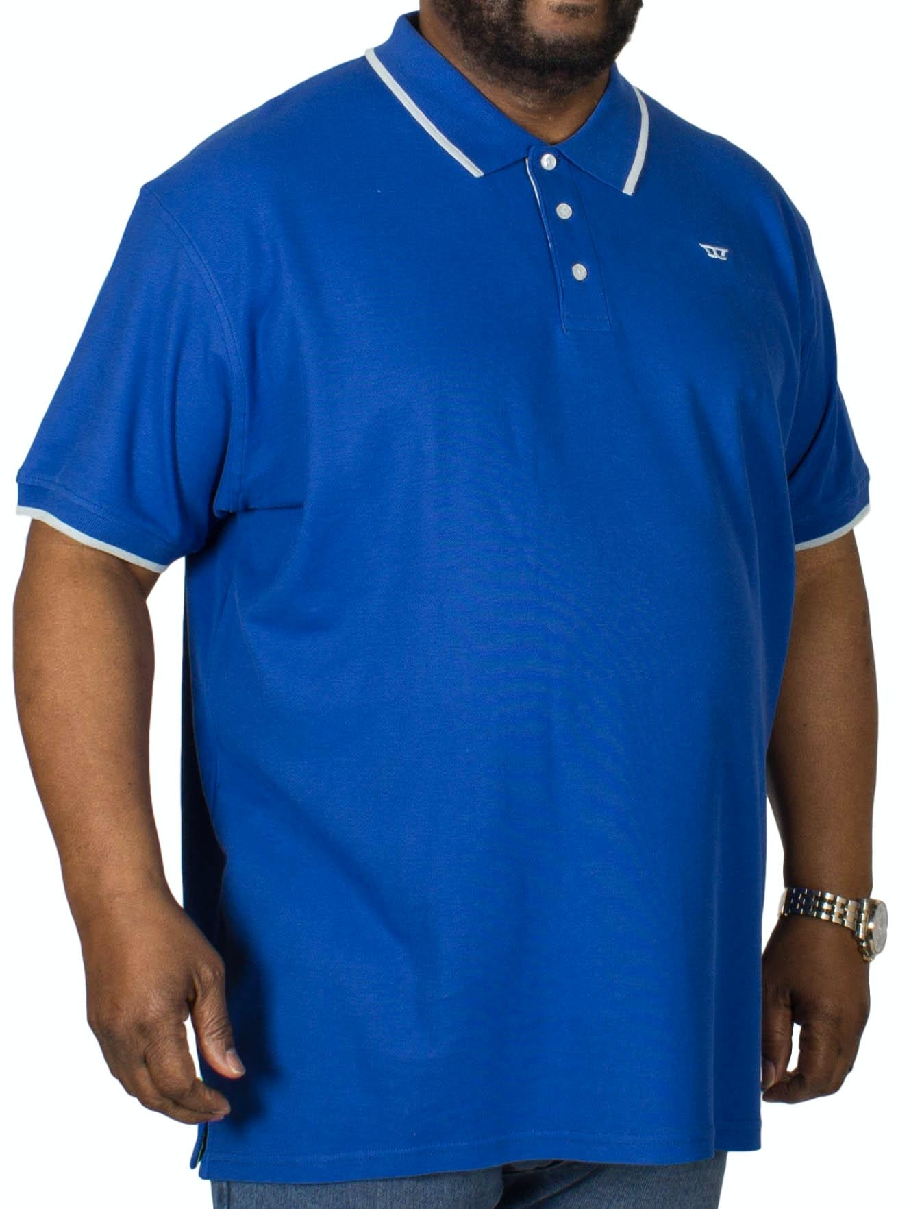 D555 Track Polo Shirt Royal