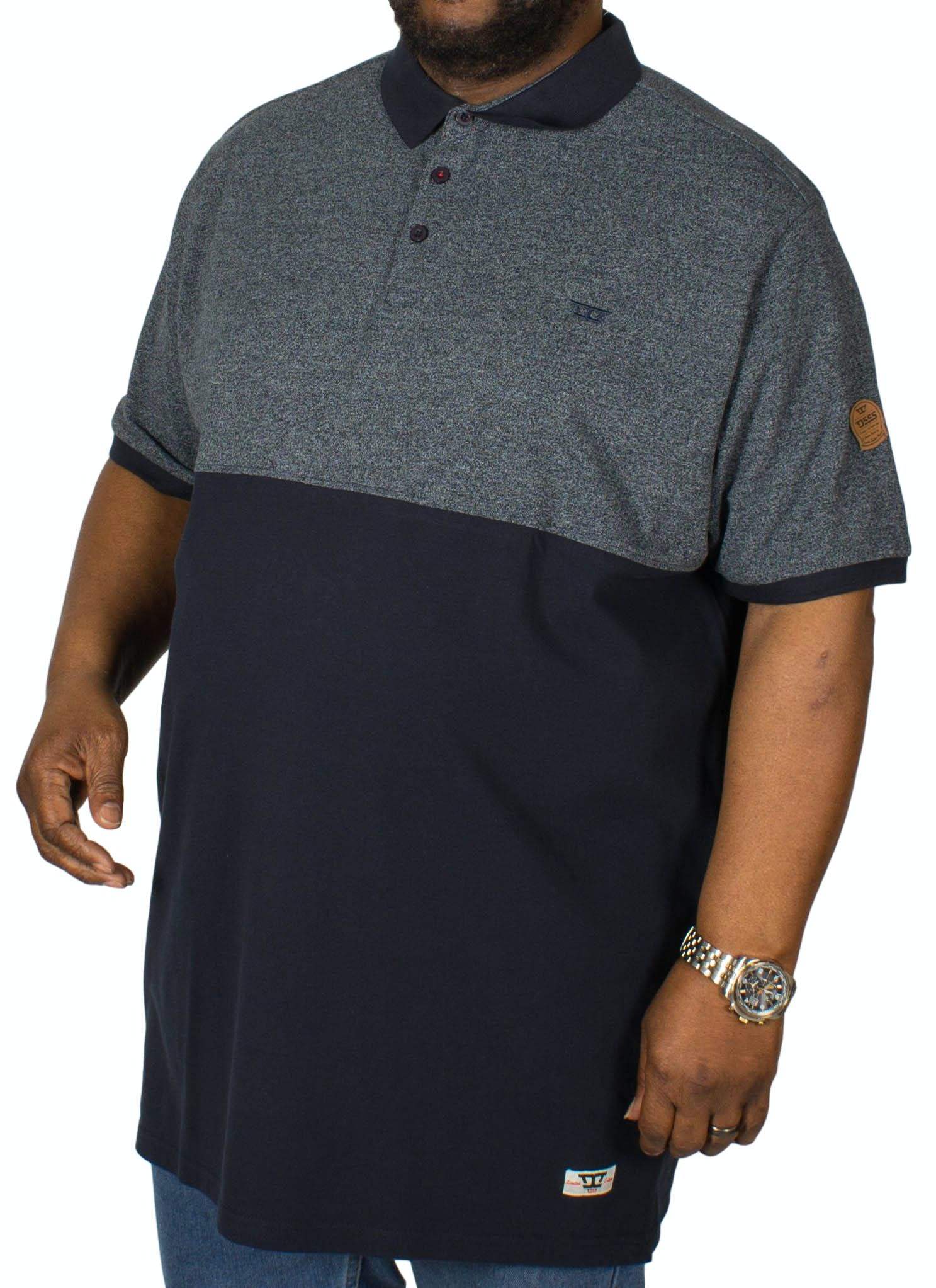 D555 Stefhen Polo Shirt Navy