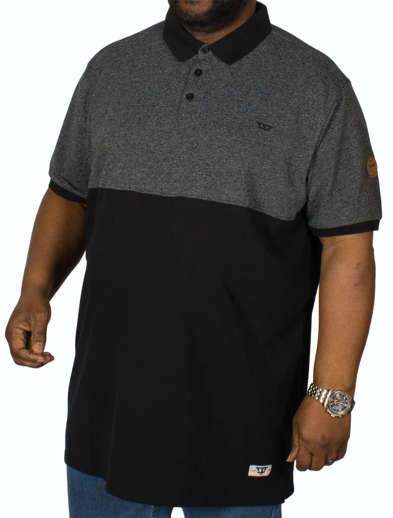 D555 Stefhen Polo Shirt Black