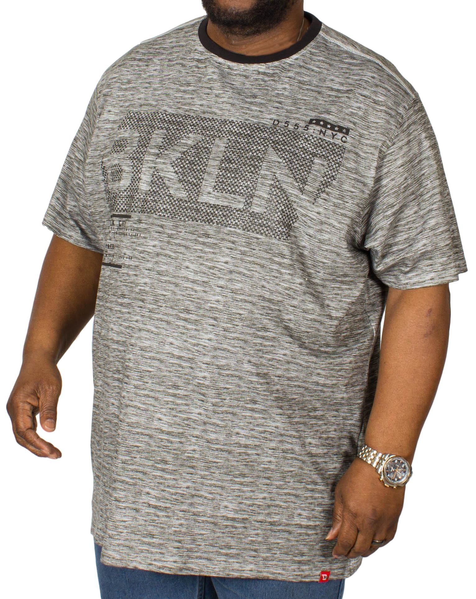 D555 New York Printed T-Shirt Black