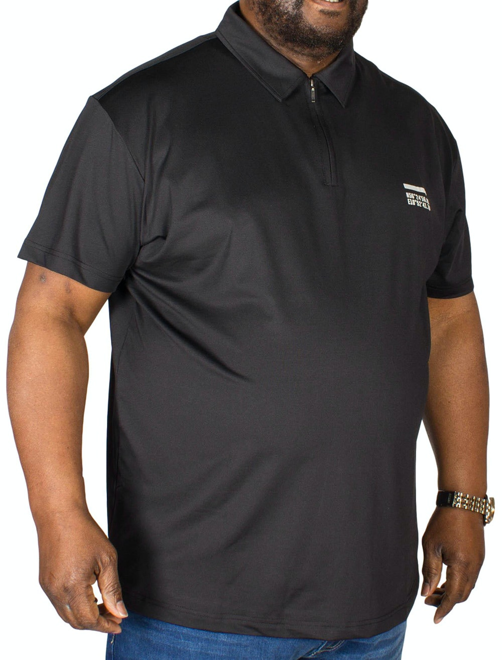 Replika Cool Effect Polo Black