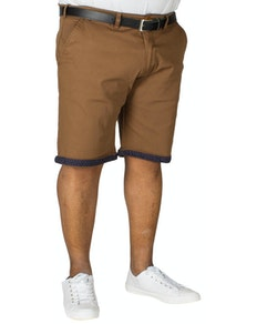 D555 Luke Shorts Tan