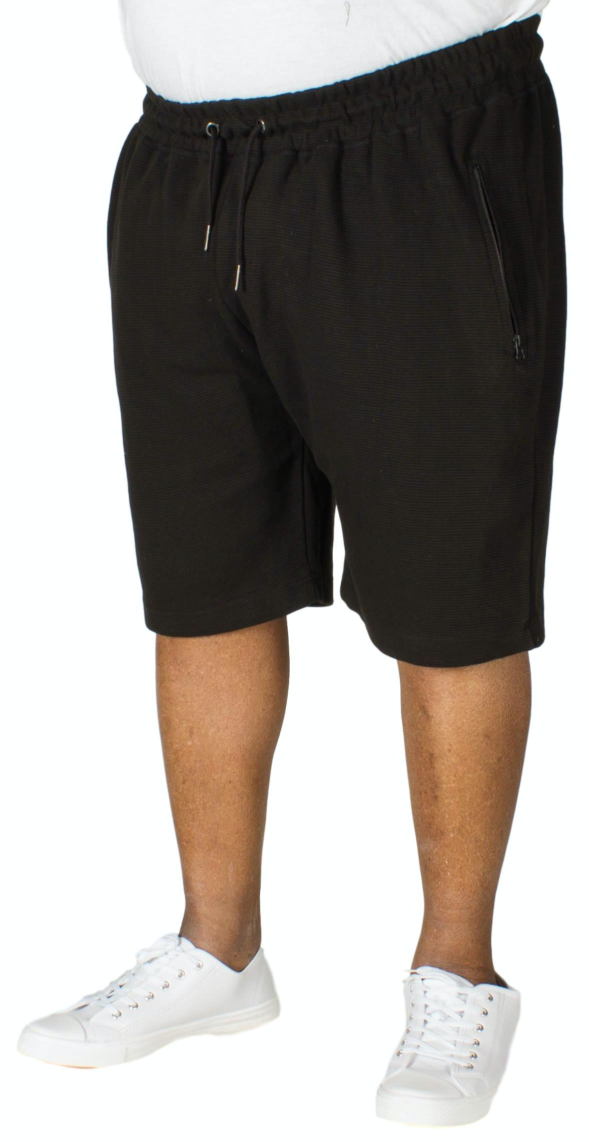D555 Jackie Ribbed Short Black