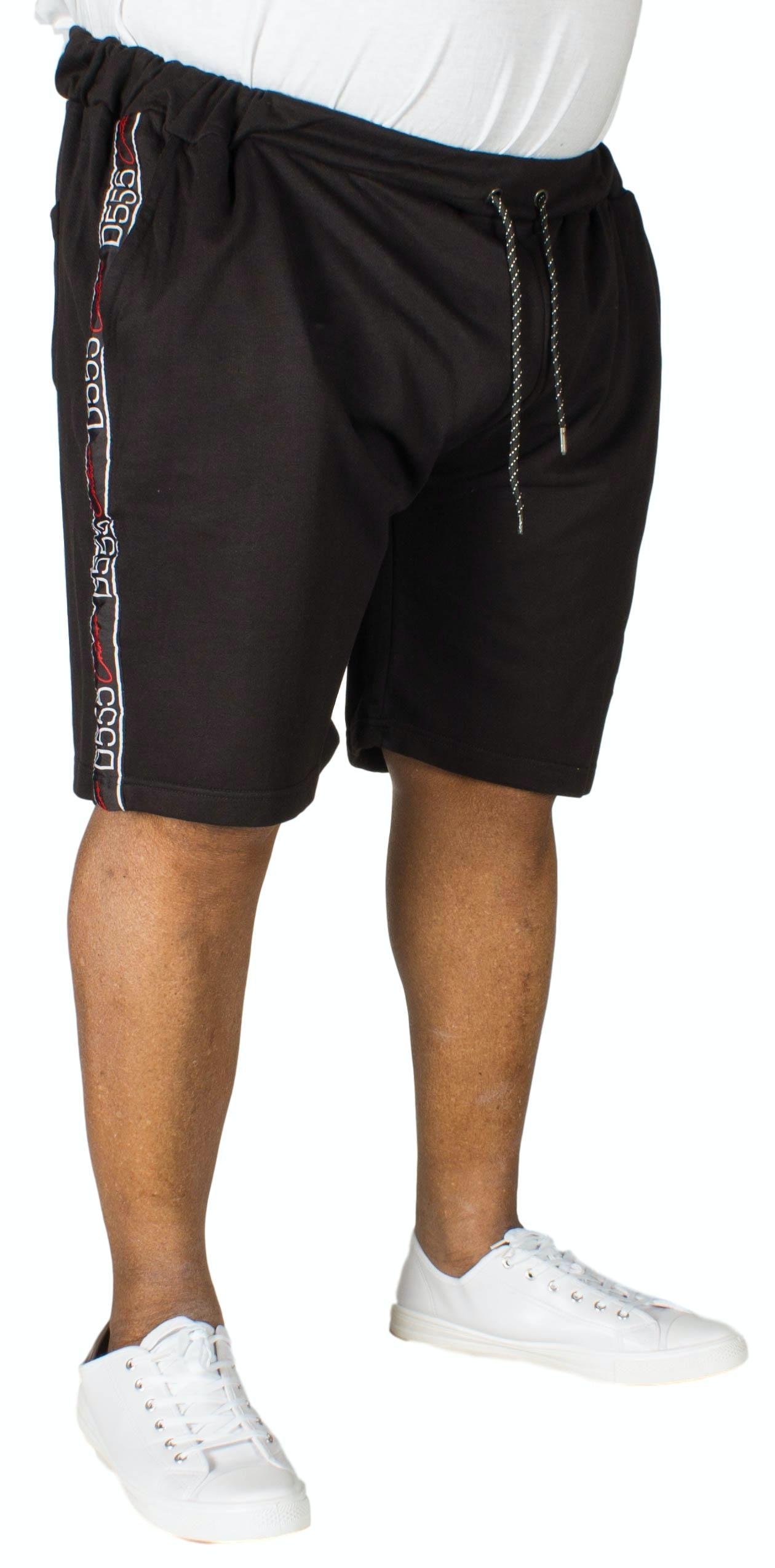 D555 Burlington Embroidered Short Black