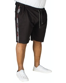 D555 Burlington Embroidered Short Black