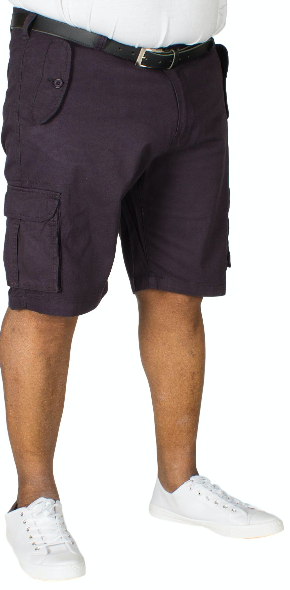 D555 Larry Cargo Shorts Navy
