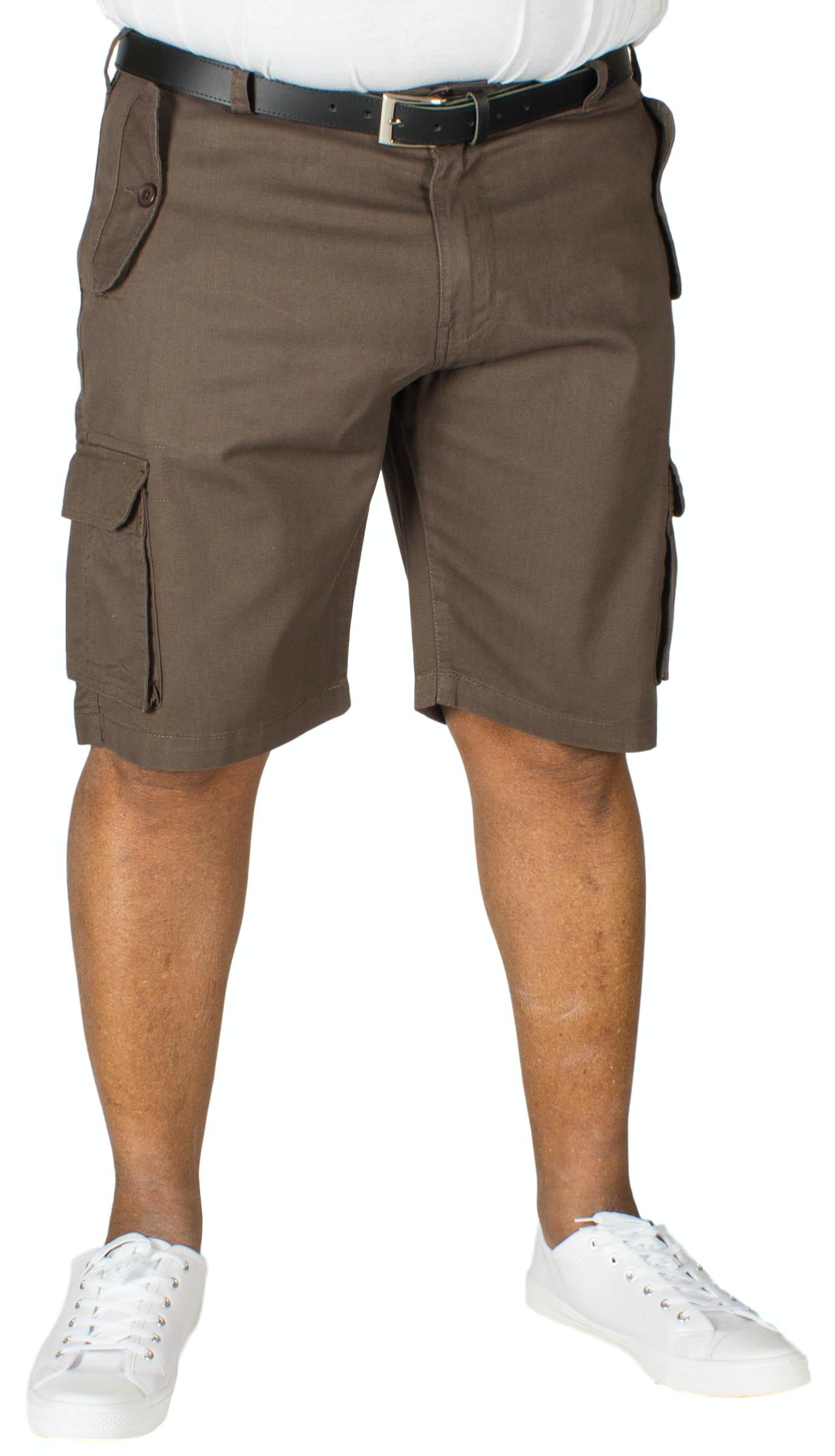 D555 Larry Cargo Shorts Khaki