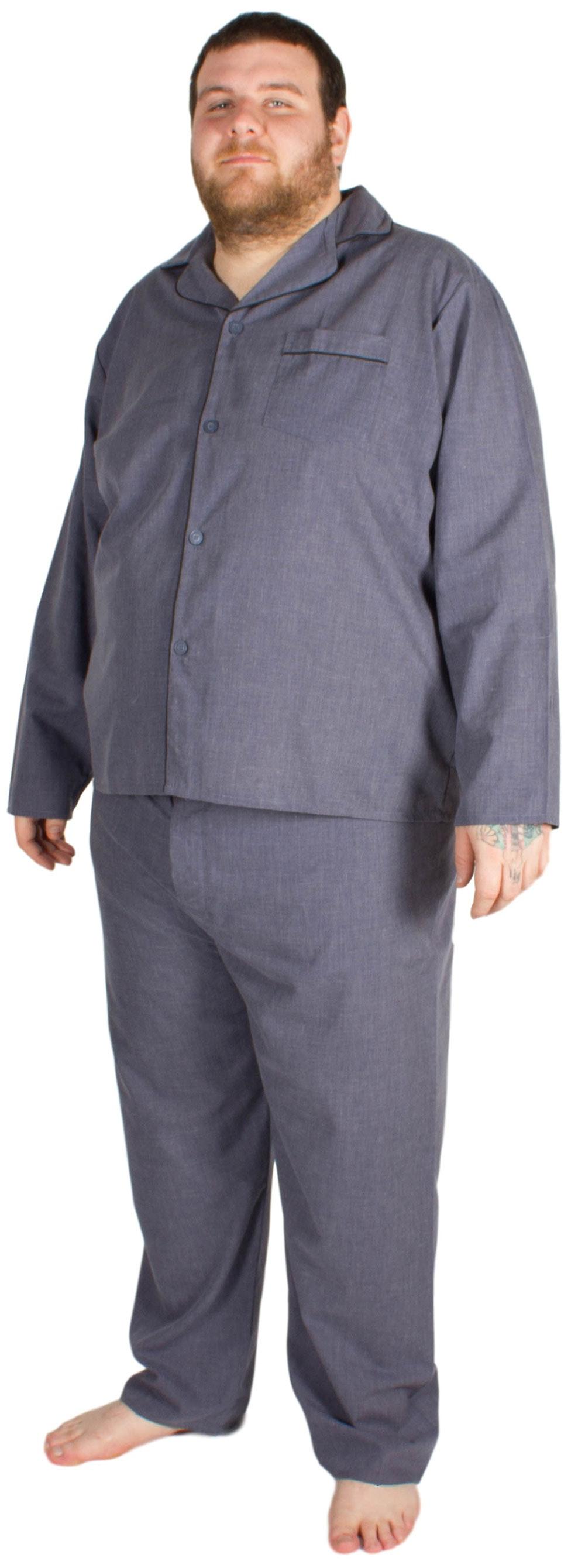 Cargo Bay Woven Pyjama Set Denim