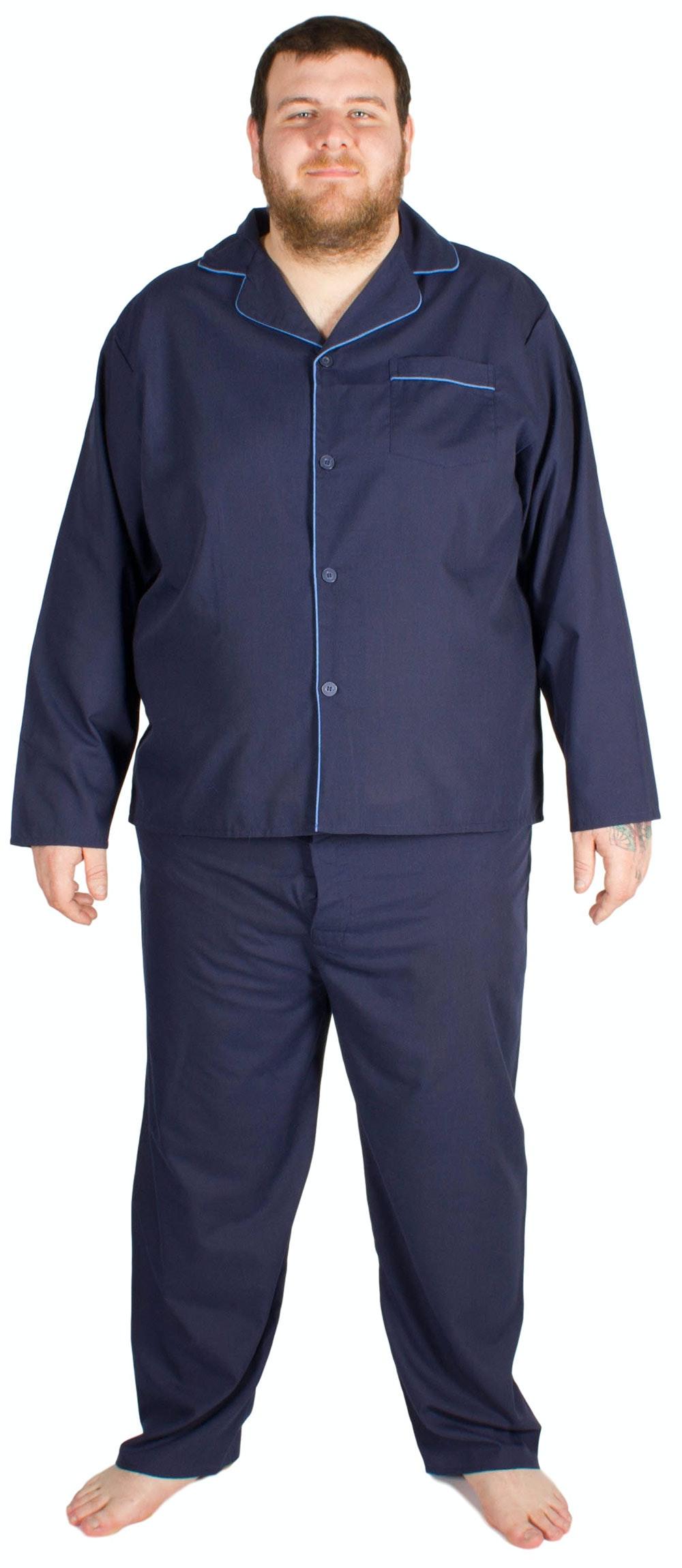 Cargo Bay Woven Pyjama Set Navy