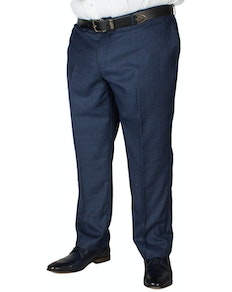Skopes Saltley Check Trousers Blue