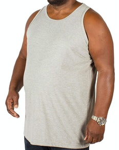 Bigdude Plain Vest Grey Tall