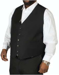 Hugo James Hazan Waistcoat Black