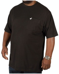 Bigdude Signature Pocket T-Shirt Black