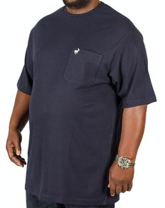 Bigdude Signature Pocket T-Shirt Navy