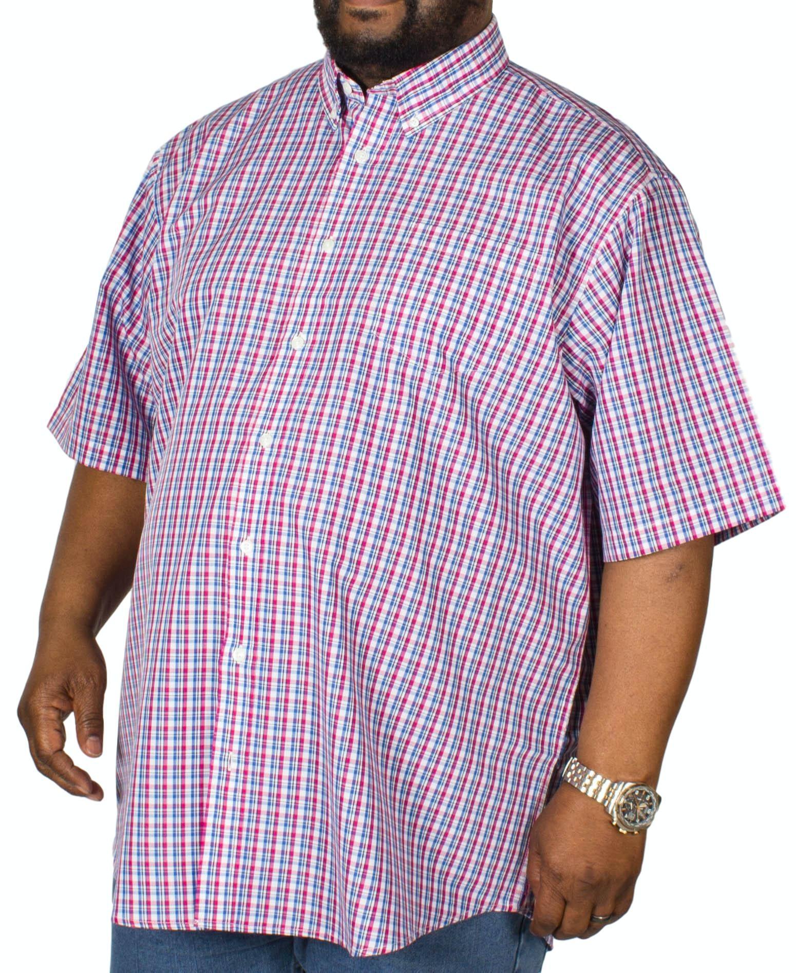 Carabou Check Short Sleeve Shirt Red