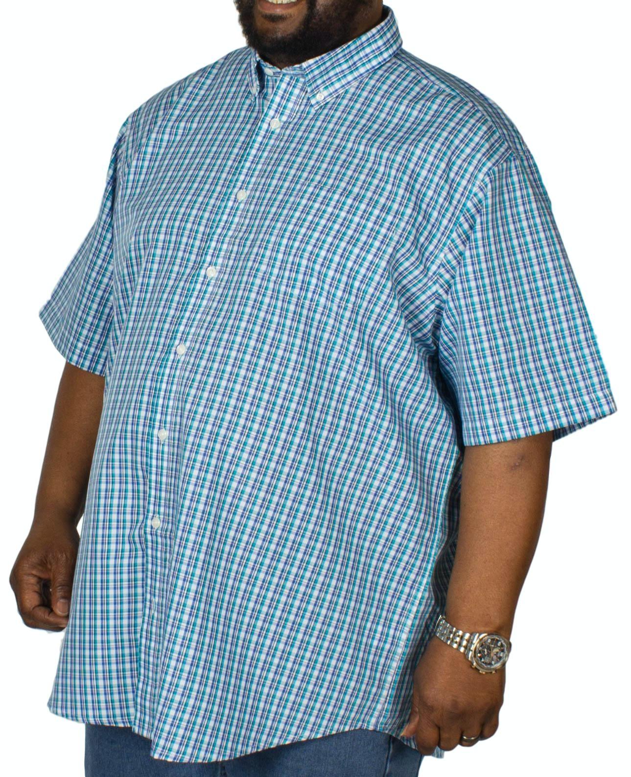 Carabou Check Short Sleeve Shirt Mint