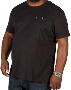 Ben Sherman Spade Pocket T-Shirt Black