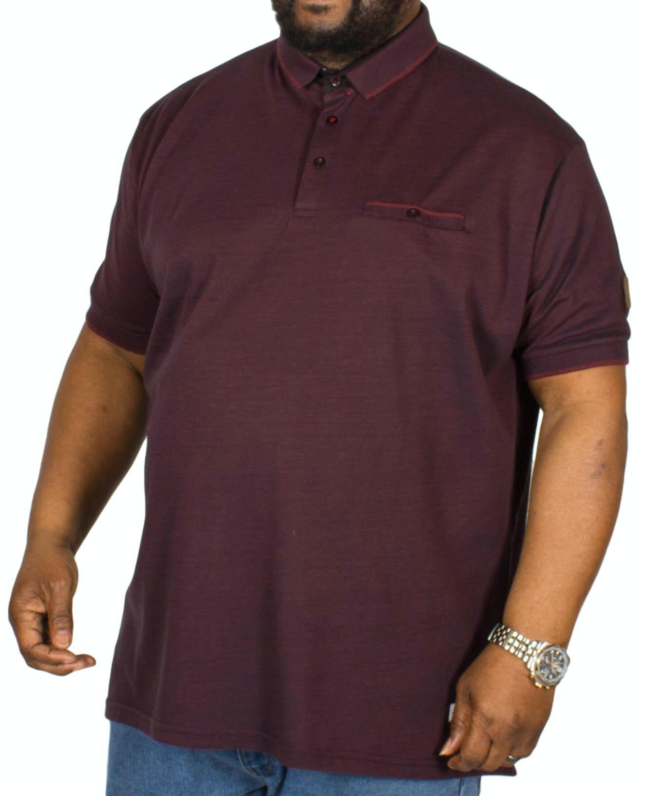 D555 Brell Polo Shirt Blackberry