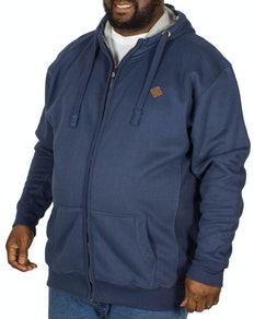 KAM Casual Soft Touch Hoody Denim