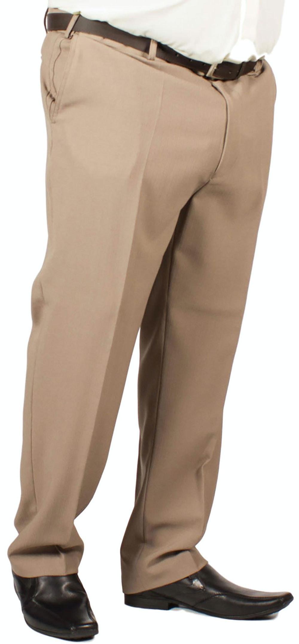 Carabou Straweave Trousers Taupe