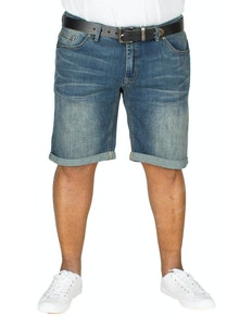 Replika Jeans Shorts Blue