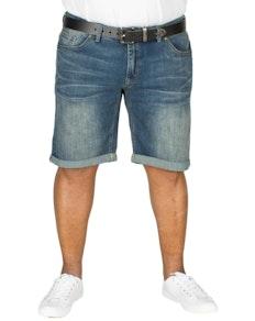 Replika Jeans Shorts Blue