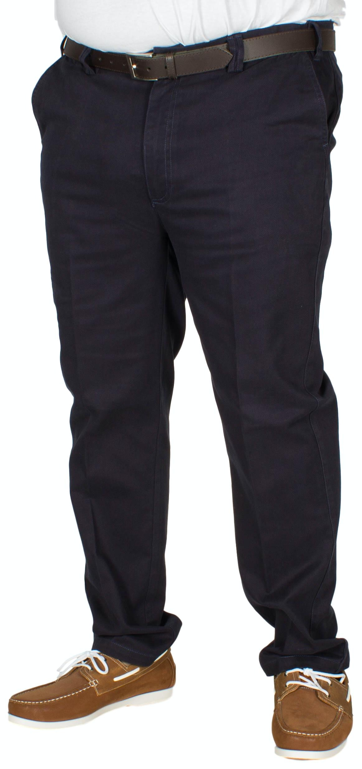 Carabou Expand-A-Band Twill Chino Navy