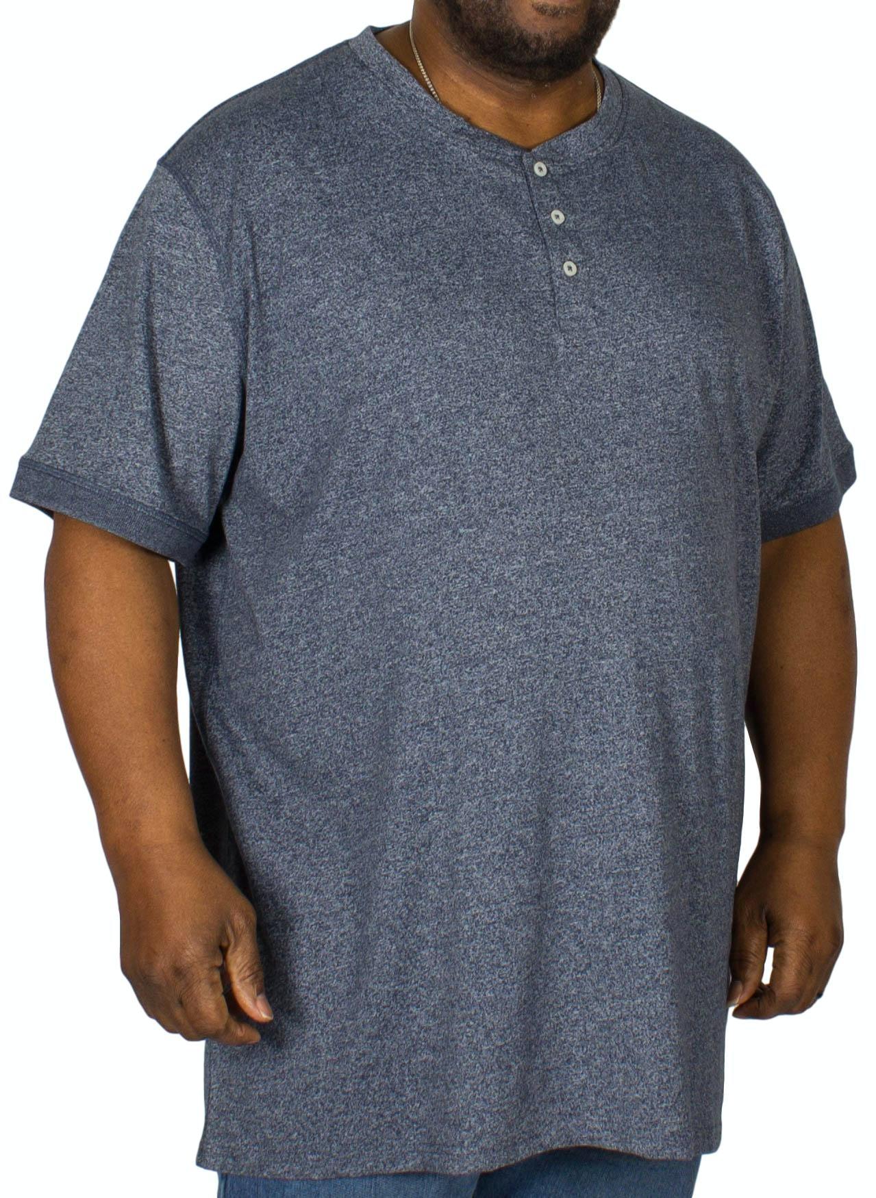 D555 Daniel Grandad T-Shirt Denim