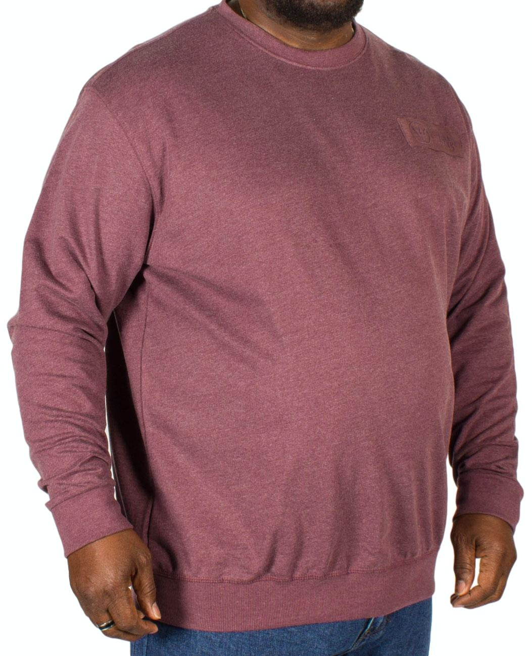 Replika Crew Neck Sweatshirt Burgundy