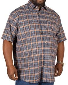 Cotton Valley Paisley Twill Check Shirt
