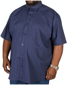 Metaphor Plain Navy Short Sleeve Shirt