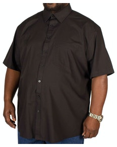 Metaphor Plain Black Short Sleeve Shirt