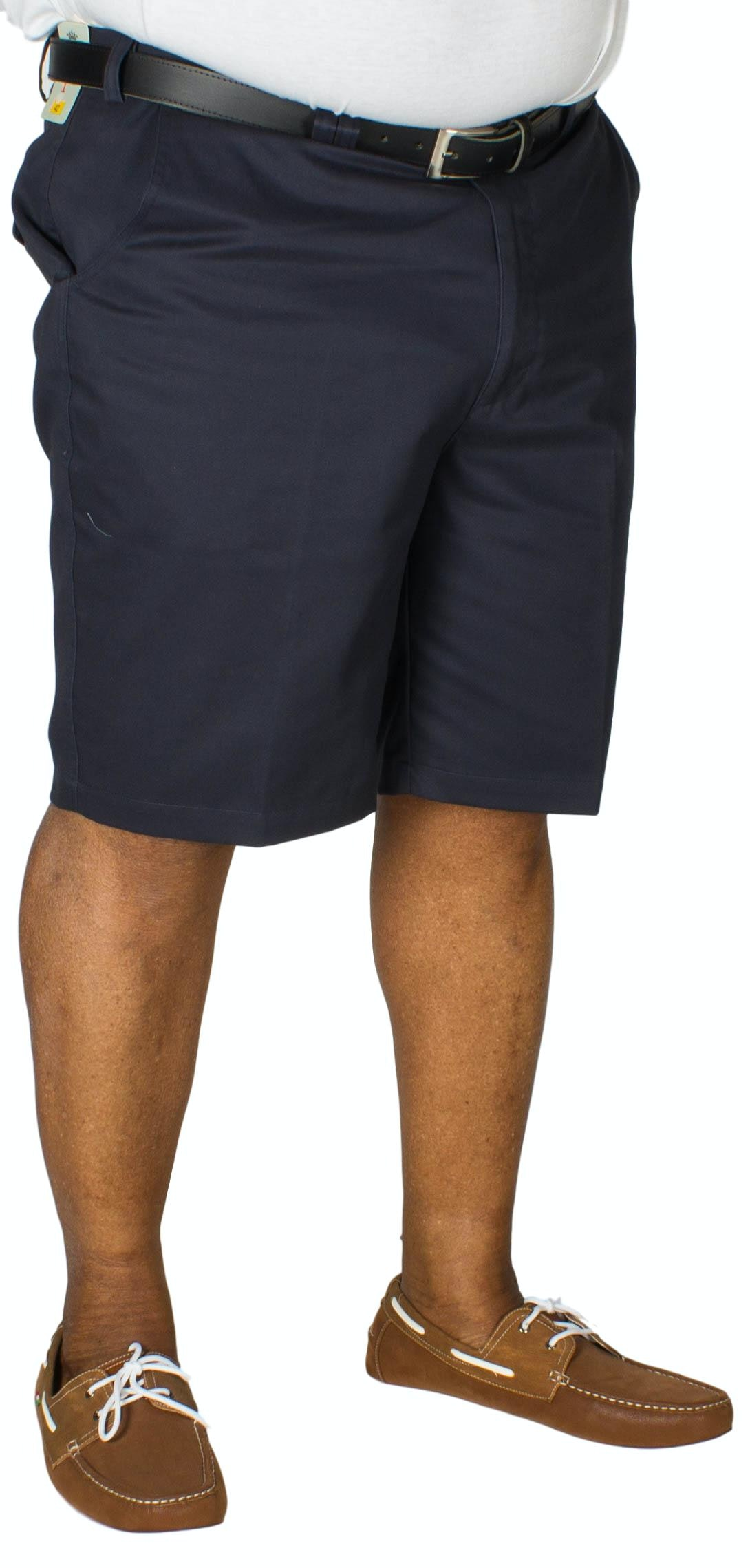 Carabou Expand-A-Band Chino Short Navy