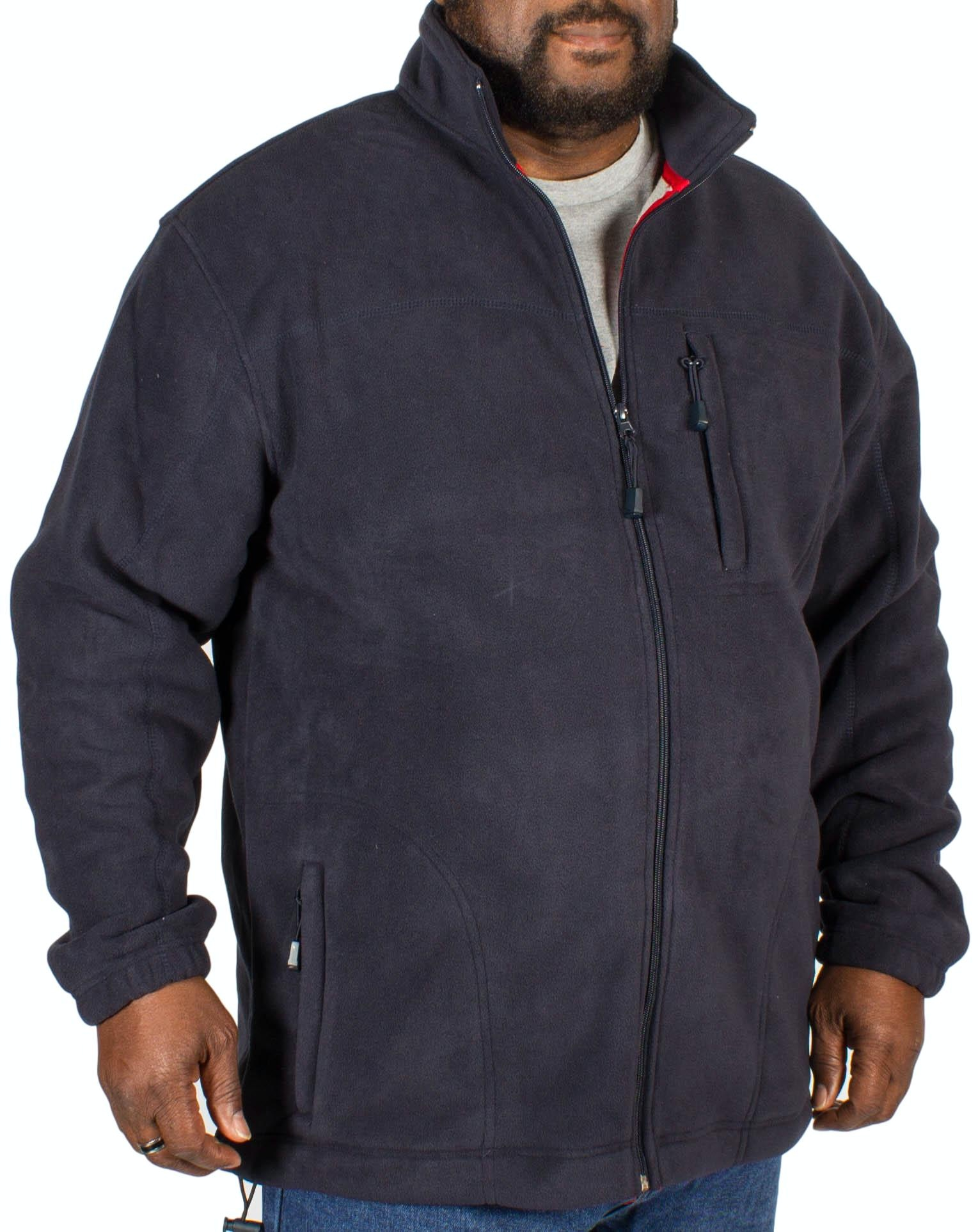 Espionage Navy Fleece Jacket