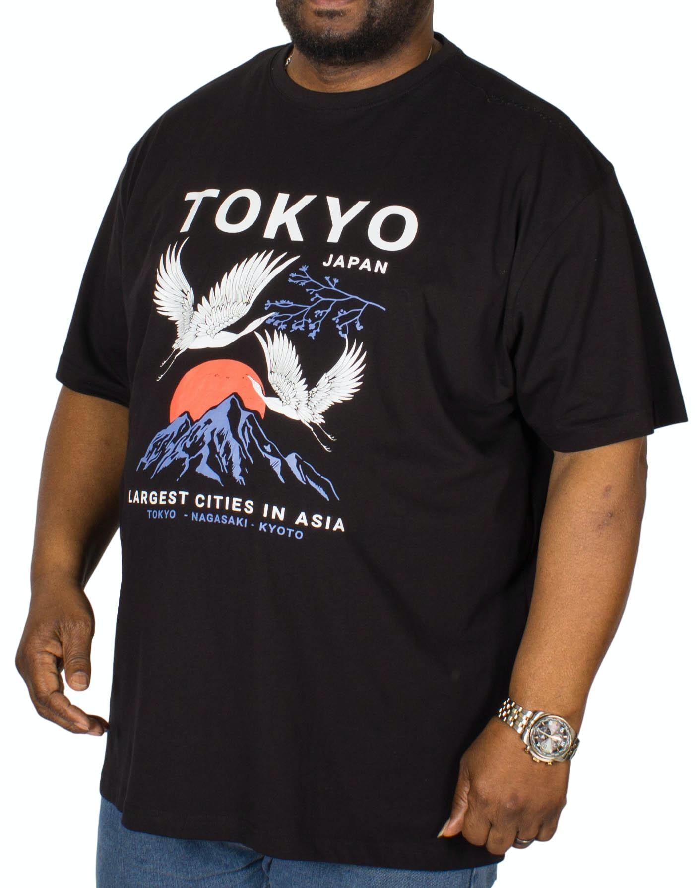 Espionage Tokyo Printed T-Shirt Black