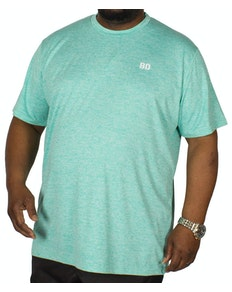Bigdude Stretch Performance T-Shirt Green Marl