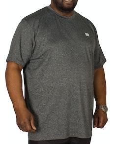 Bigdude Stretch Performance T-Shirt Grey Marl