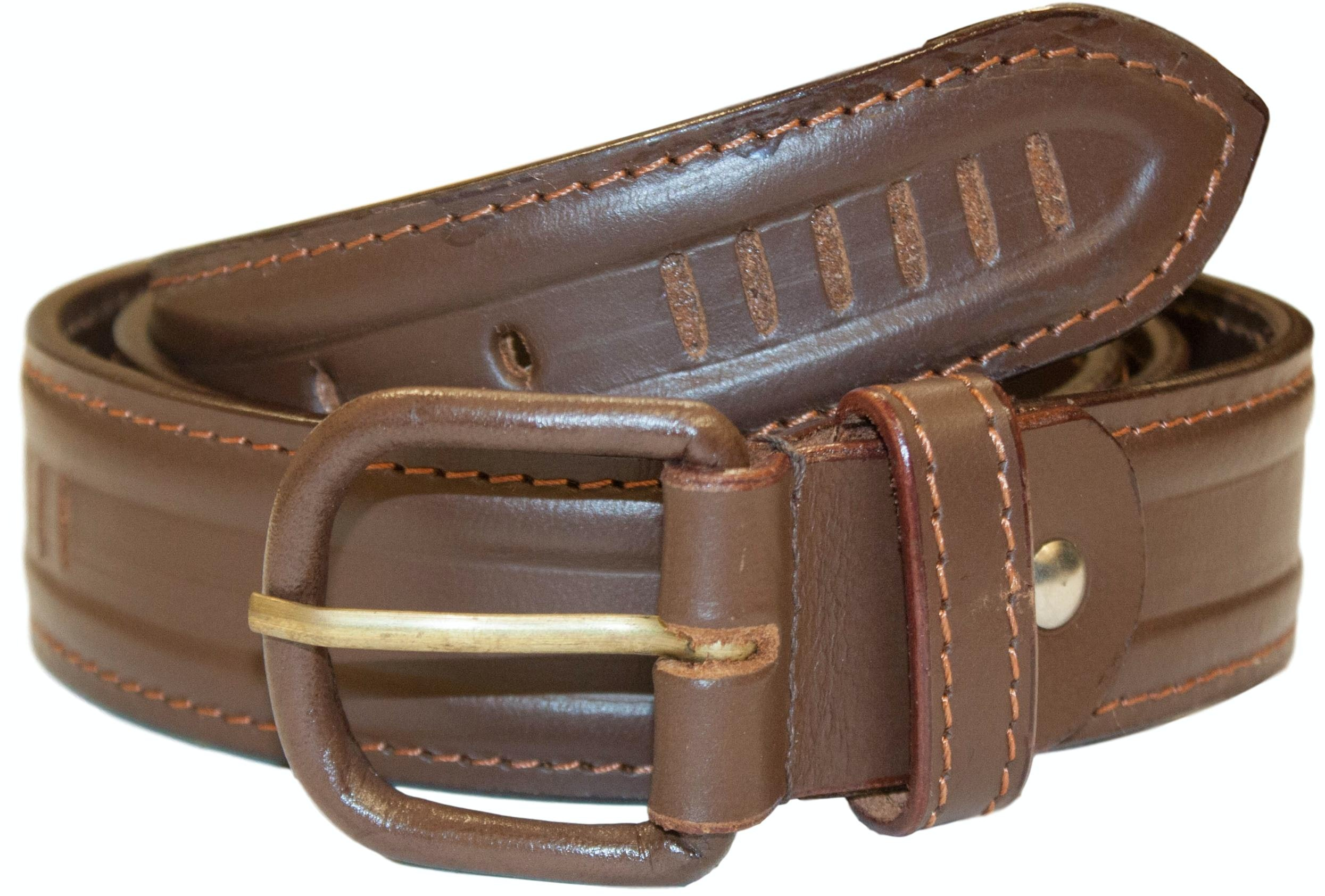 Charles Leather Belt Brown
