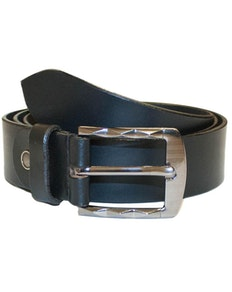 Gerald Leather Belt Black