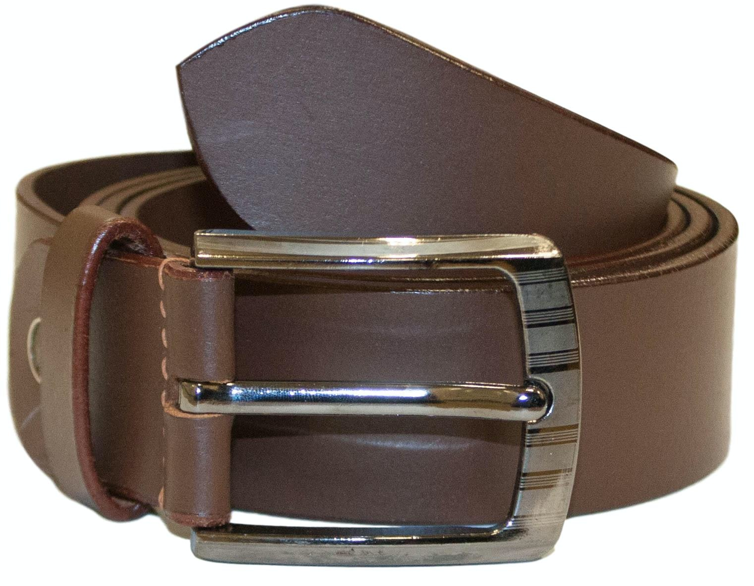 Colin Leather Belt Brown