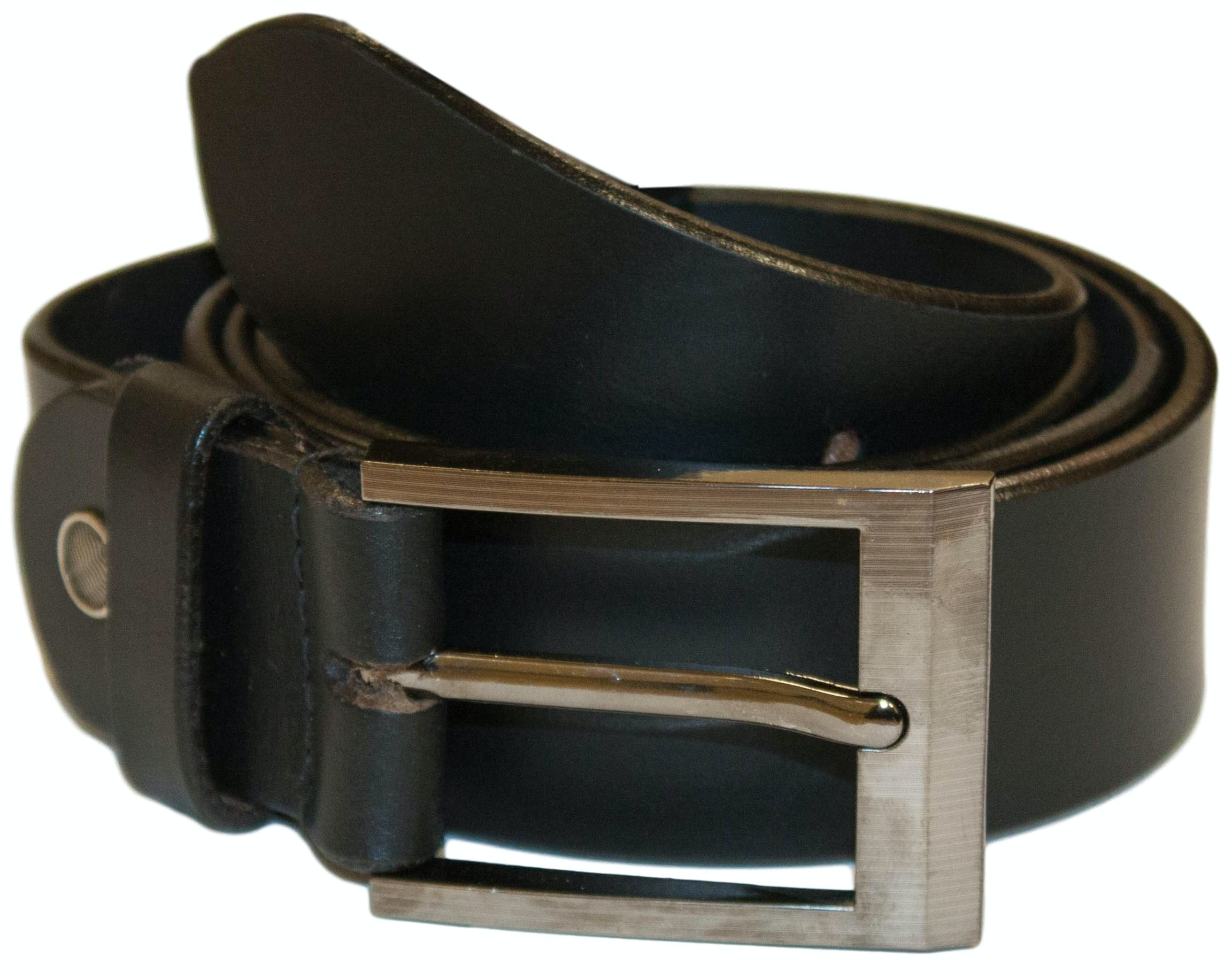 Henry Leather Belt Black
