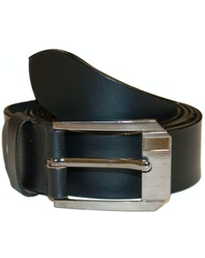 Simon Leather Belt Black