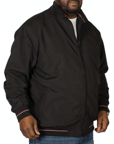 KAM Lightweight Harrington Jacket Black